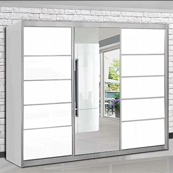 מדהים ארון הזזה 3 דלתות + מראה - דגם דקל - House design פסח בH-D משלוח ZQ-44